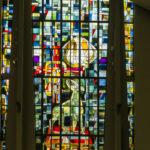 Priester Poppekapel, Moerzeke, glasramen